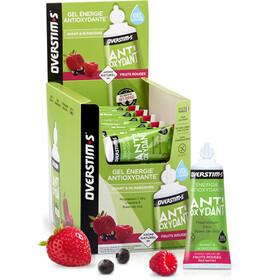 OVERSTIM.s Antioxydant Żele energetyczne - opakowanie 36x30g, Red Berries